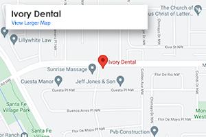 Map Albuquerque Dentist